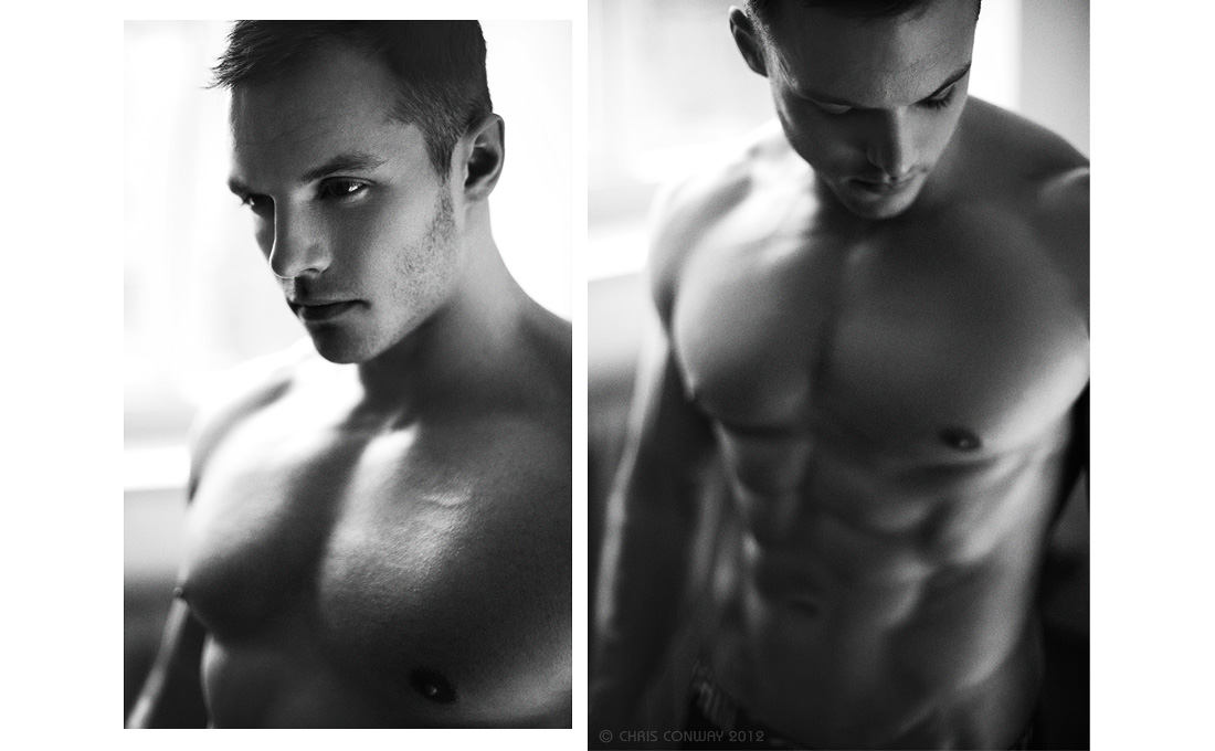Model: Scott Leeson @ W Athletic, Makeup Artist: Rebecca Searle @ Animate, Hair Stylist: Alex Walker